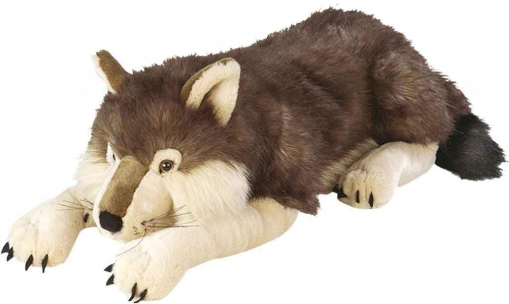 Cuddlekins stuffed wolf