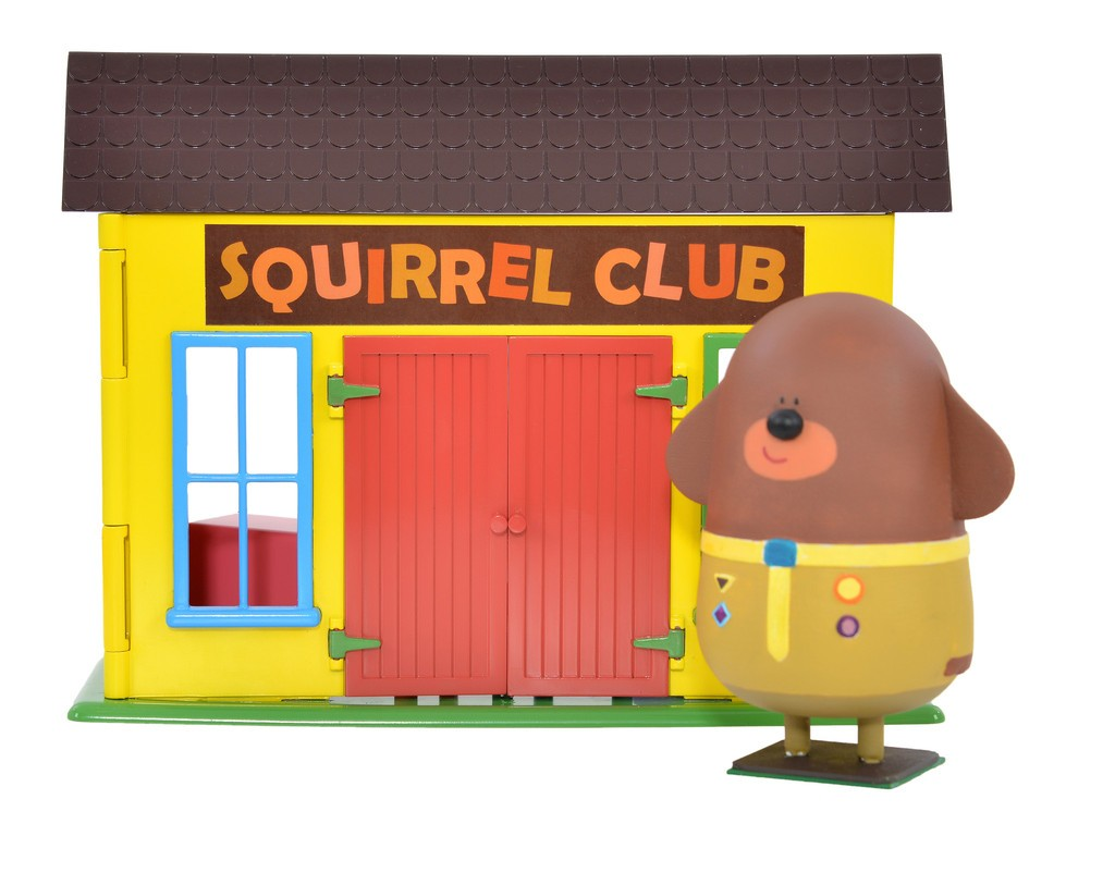 Hey Duggee Squirrel Club Playset