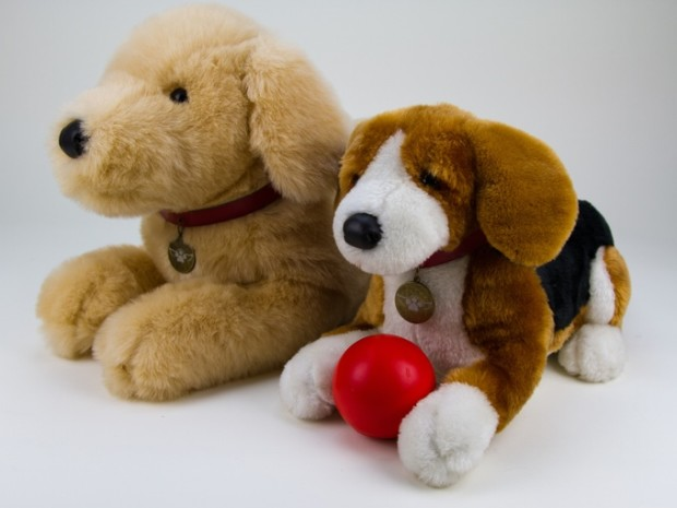 Creepy yet adorable stuffed animal holds the ashes of your pet