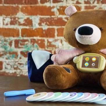 Plush toy robots become a new type of therapy animal