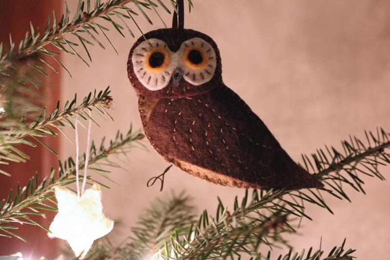 How to make a stuffed owl