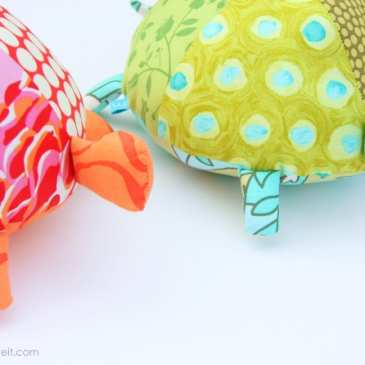 How to make a stuffed turtle