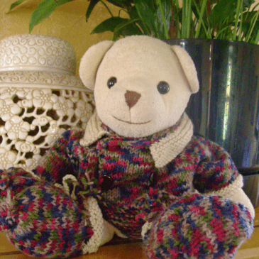 How to make a teddy bear out of old clothes