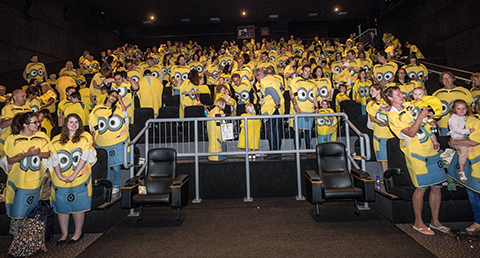 Rubie's and Centum Books attempted a Minions World Record for Guinness