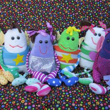 8-year-old girl created a successful line of stuffed animals