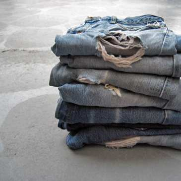 Levi's will let people recycle their old clothes and use them for stuffed animals