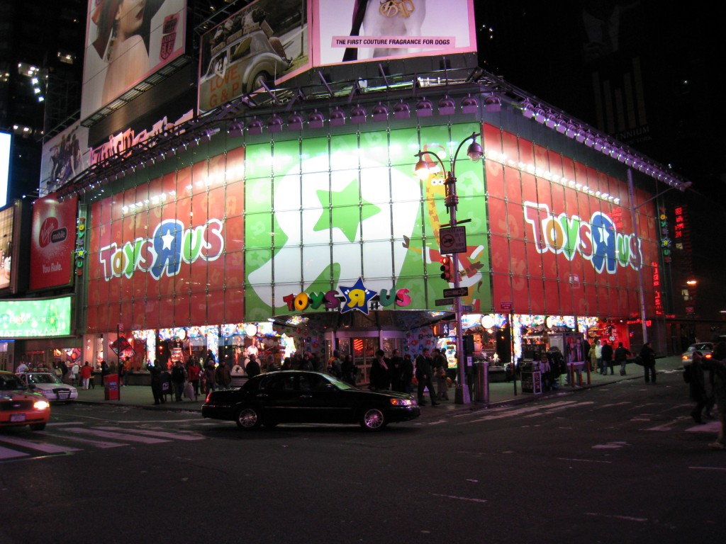 Amazon is interested in some of Toys R Us vacant stores