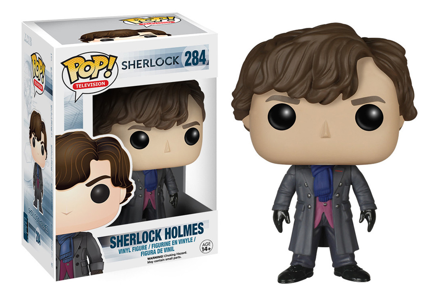 """Sherlock"" and ""Friends"" are getting a Funko Pop figure line"