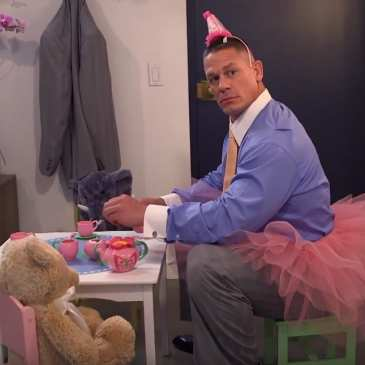 Video: John Cena's secret stuffed animal hobby