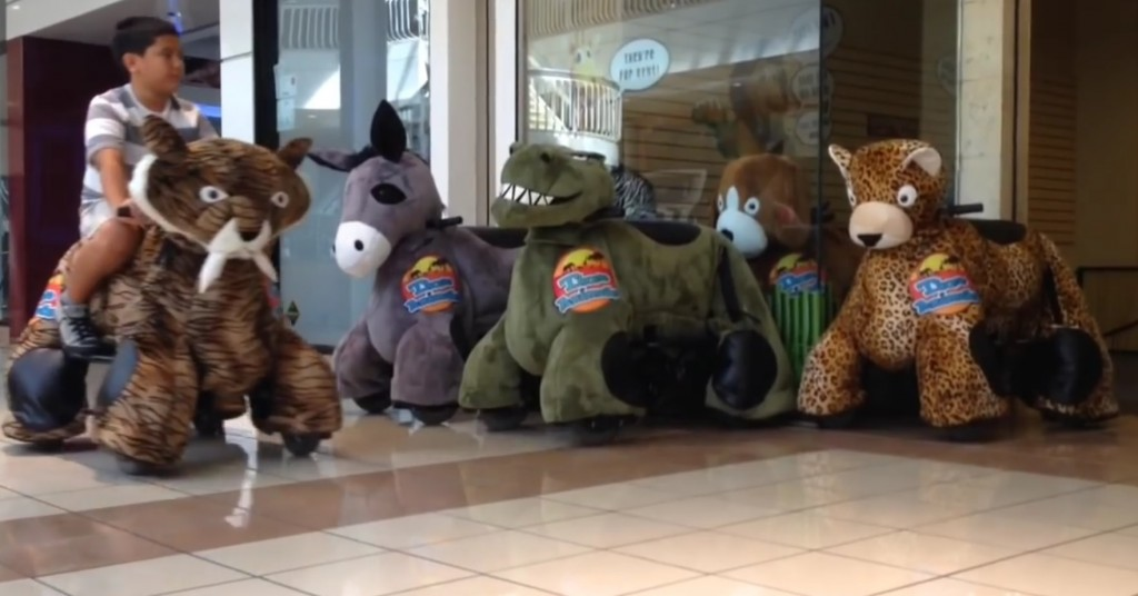 Motorized stuffed animals are taking over malls in Texas