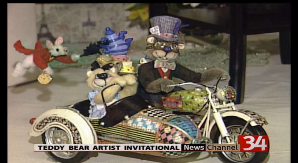 Check out the Teddy Bear Artist Invitational which is beginning in Binghamton