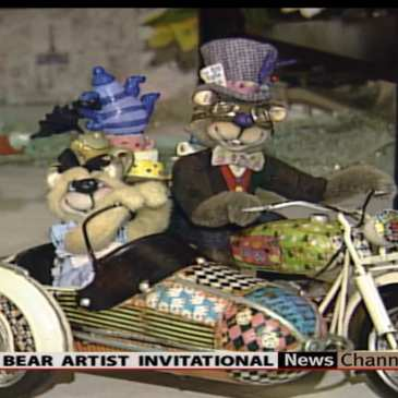 Check out more from the 21st Teddy Bear Artist Invitational (video)