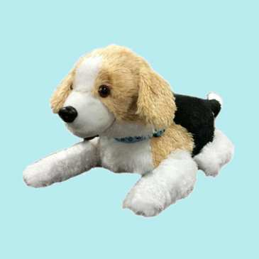 Smart stuffed dog helps PTSD treatment