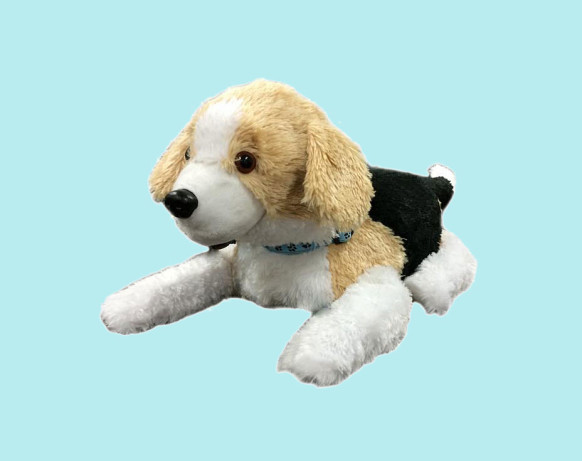 Smart stuffed dog helps PTSD treatment
