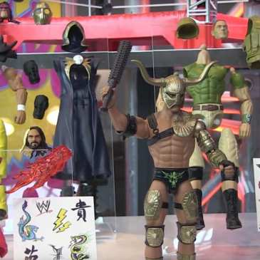 Mattel and WWE will allow you to create your own Superstar