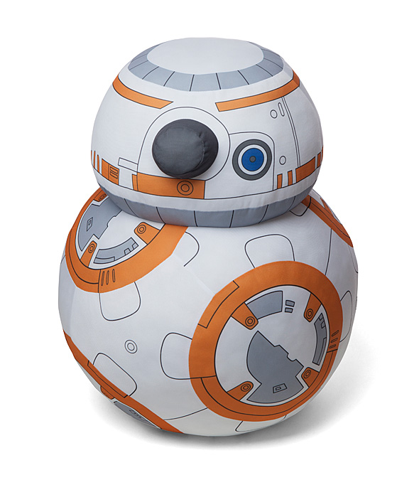 A life size Star Wars BB-8 Plush Droid is perfect for hugs