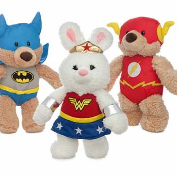 DC Comics shows off a new line of teddy bears