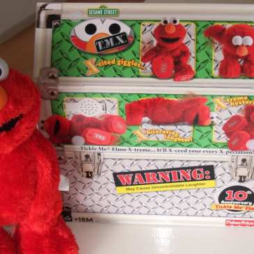 Seven hidden features of Tickle Me Elmo X-treme