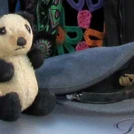 "A stuffed toy panda from WW2 has been deemed ""priceless"""