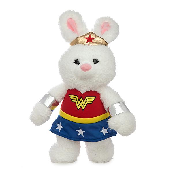 Wonder Woman stuffed animal bunny
