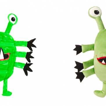 IKEA starts to make stuffed animals based on children's drawings