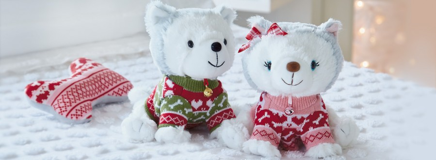 Hallmark's Jingle and Bell toys will help real pets find homes