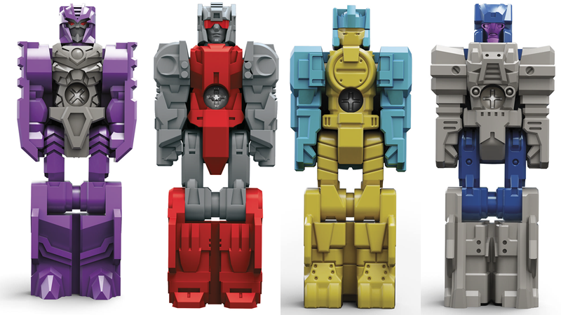 The new generation of Transformers toys goes back to the classics