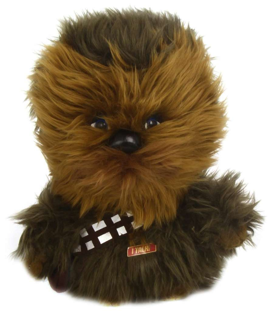Chewbacca talking stuffed animal