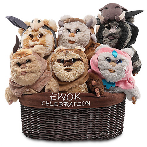 Ewok Celebration plush toys