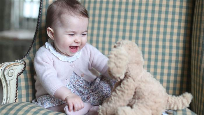 Princess Charlotte's favorite stuffed animal is a Fuddlewuddle