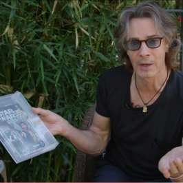 Rick Springfield shows off his huge Star Wars action figures collection