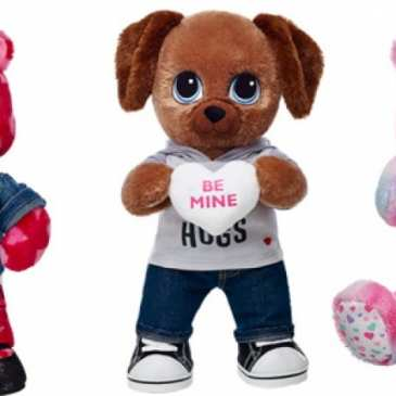 Build-A-Bear will offer special Valentine's Day scented stuffed animals