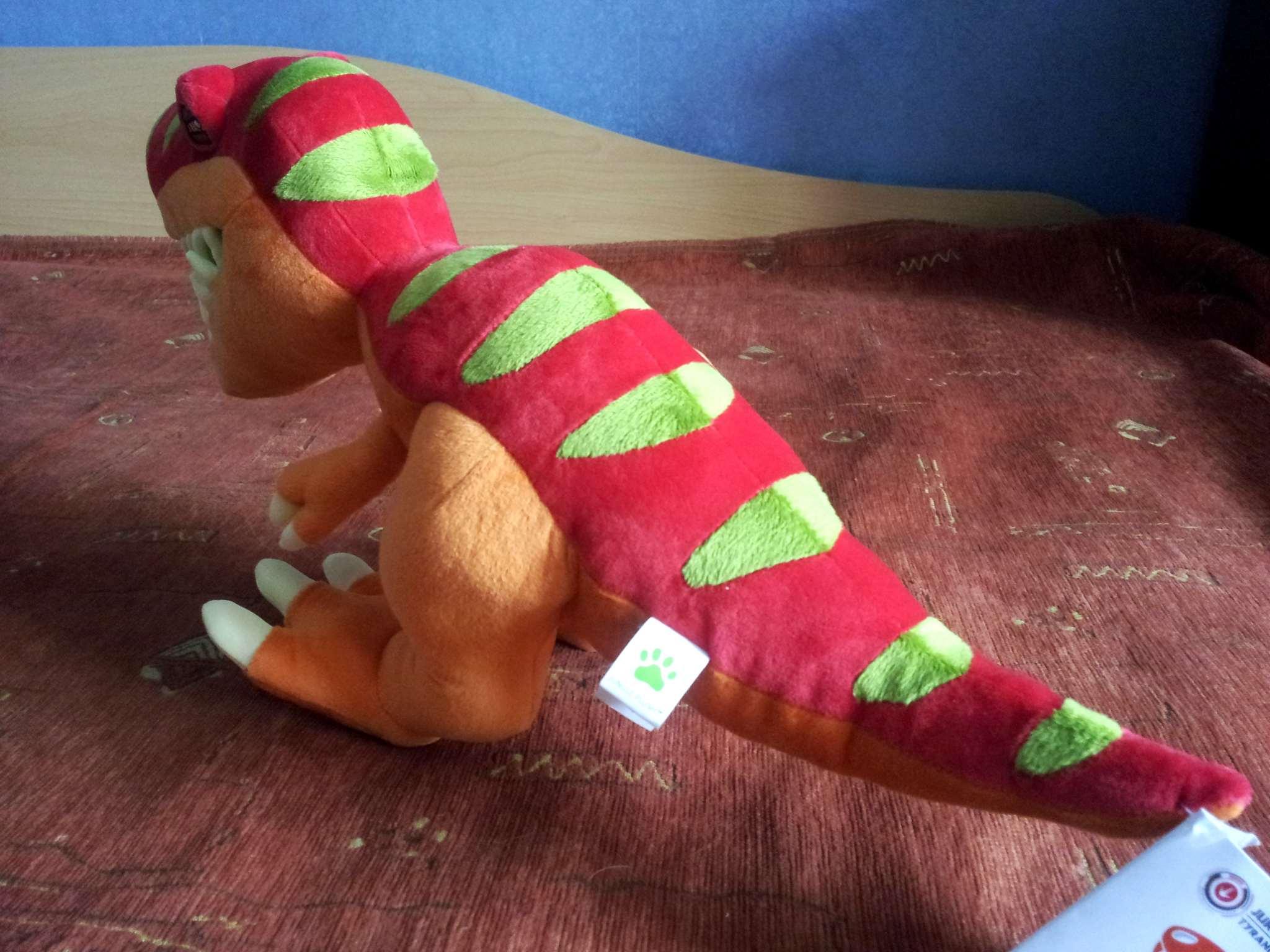 how to make a stuffed dinosaur