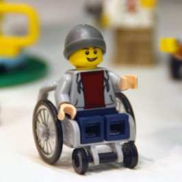 LEGO unveiled its first set with a disabled Minifigure