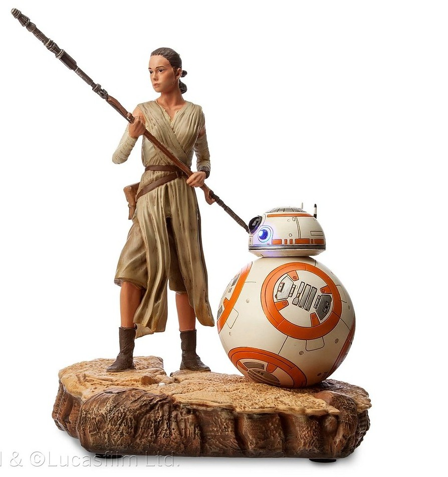 Rey from Star Wars is now found in the toy stores