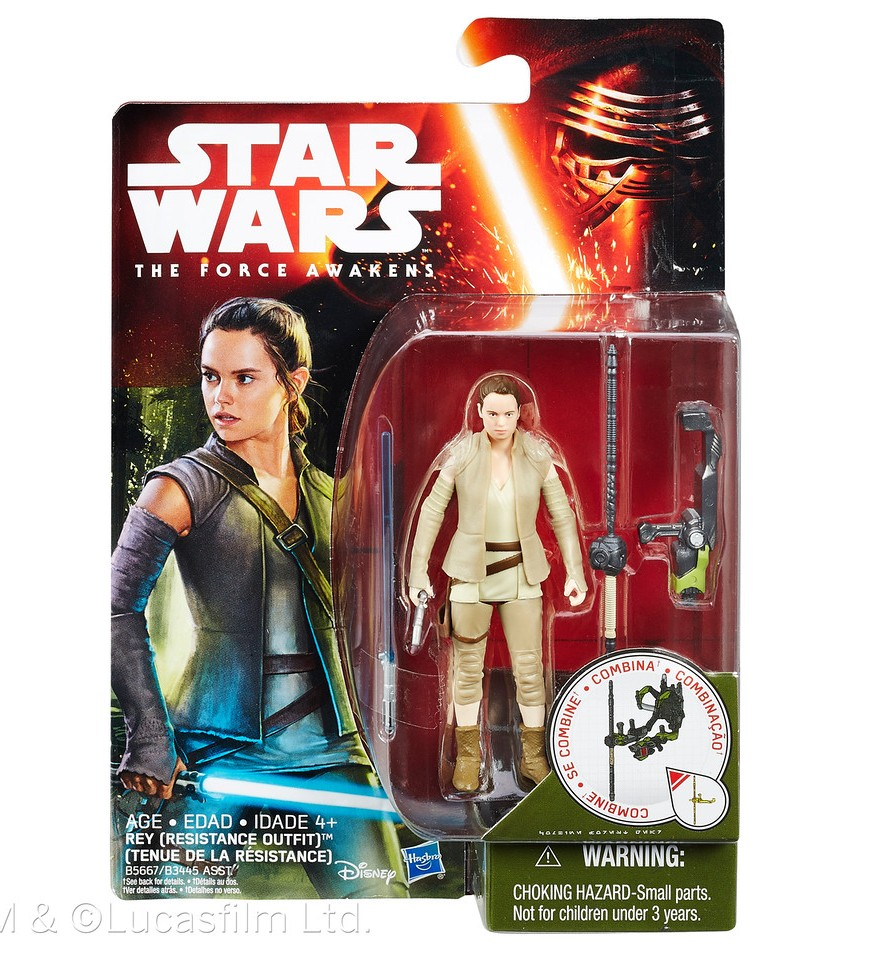 Star Wars Rey action figures