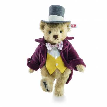 Steiff is set to launch an official Willy Wonka teddy bear