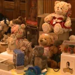 The 25th Annual Teddy Bear and Doll show was held in Marietta