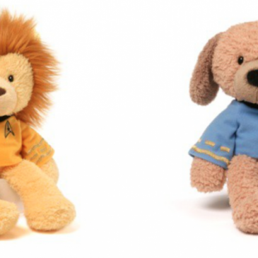 Gund launches a new Star Trek line of stuffed animals