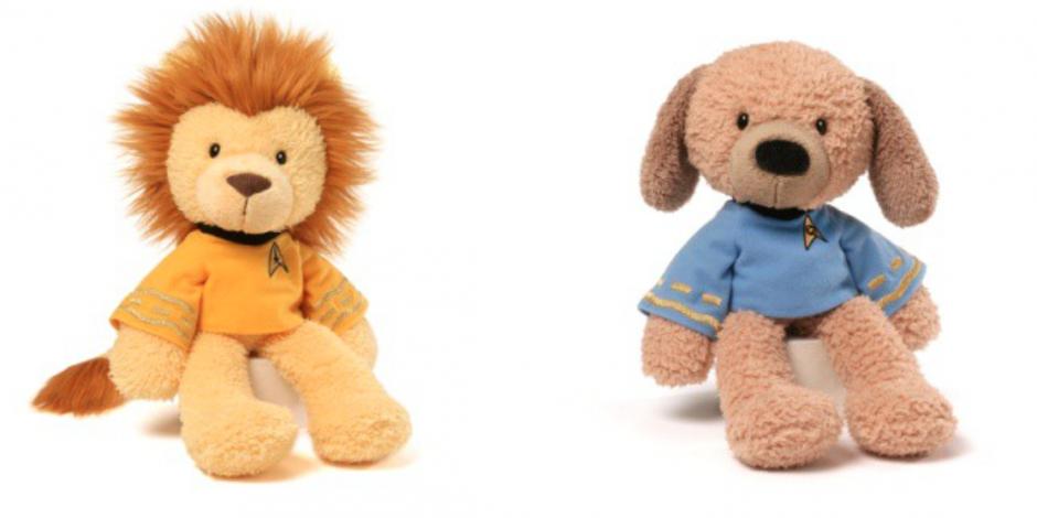 Gund launches a new Star Trek line of stuffed animals