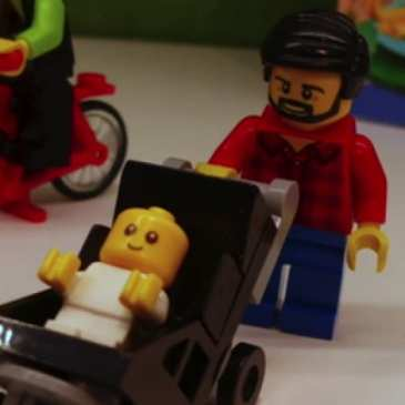 "LEGO unveils new ""stay at home dad"" Minifigure"