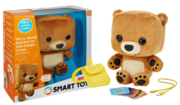 A smart teddy bear toy could have revealed the IDs of children