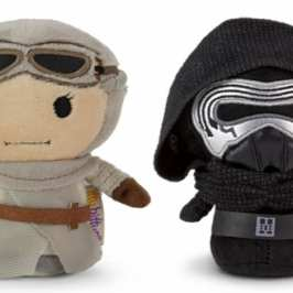 Hallmark and Disney will be making new Star Wars Itty Bitty mini plush toys
