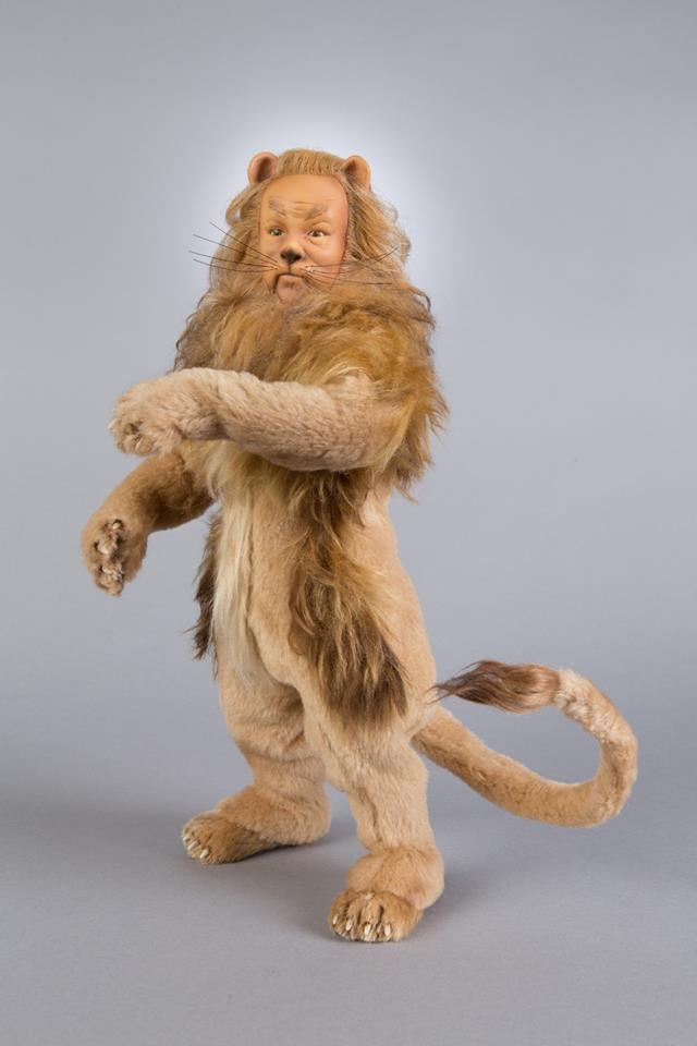 The Cowardly Lion stuffed animal