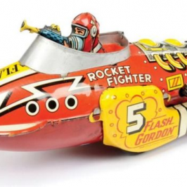 Vintage toy robot auction goes into the tens of thousands