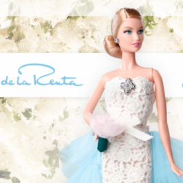 Mattel and Oscar de la Renta will make the new Barbie doll