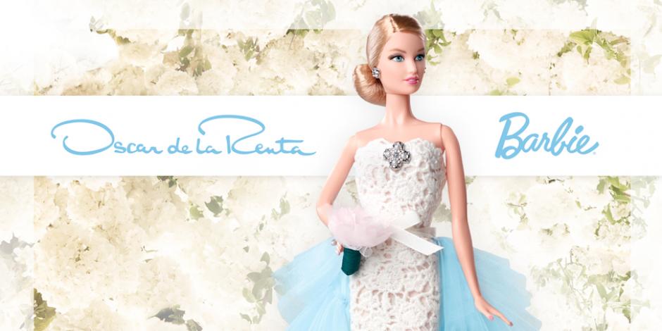 Mattel and Oscar de la Renta will make the new Barbie doll
