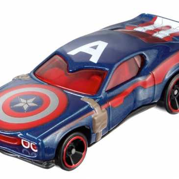Mattel introduces new Captain America Hot Wheels toys