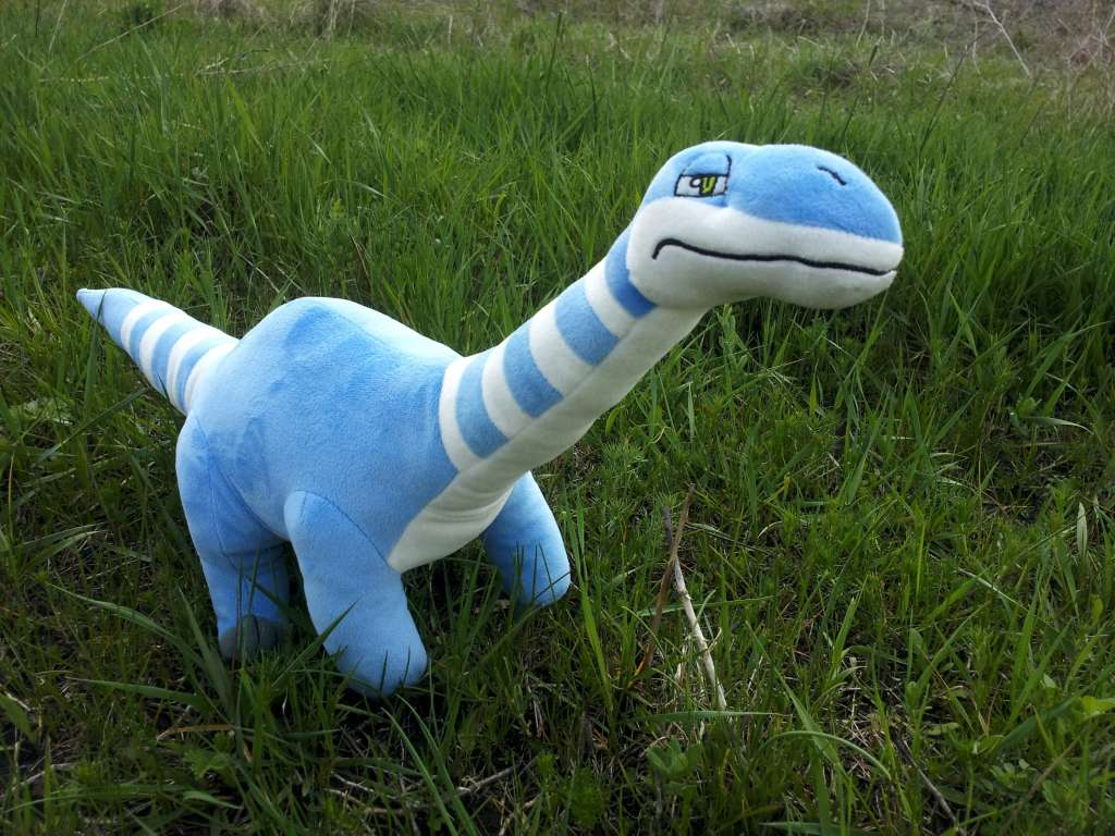 Jungle Plush Apatosaurus stuffed dinosaur
