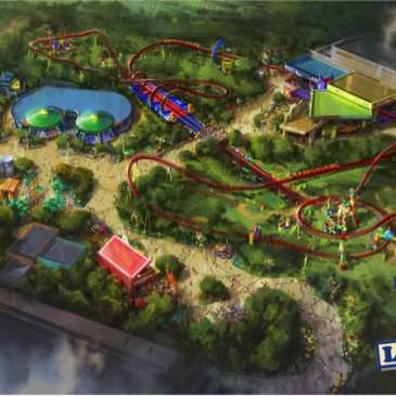 Video: Disney Parks shows a first look of the new Toy Story Land
